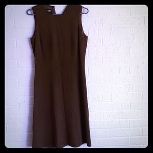Patrick Collection pure Silk brown dress size 8